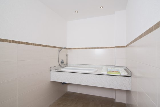 Changing room & wash room for children