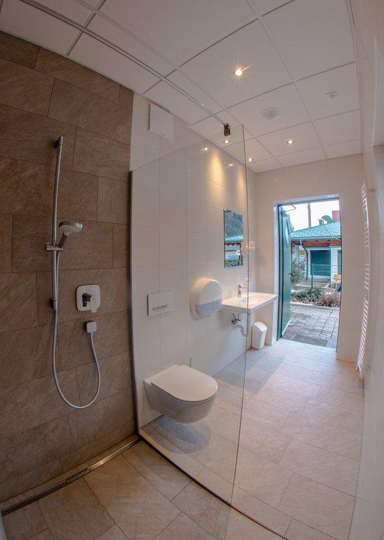 Private bathroom © Camping Mayrhofen