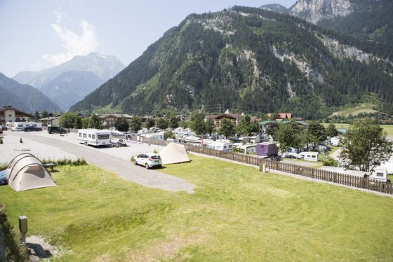 Panoramic camping in the Zillertal