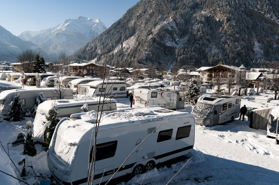 Camping in Mayrhofen